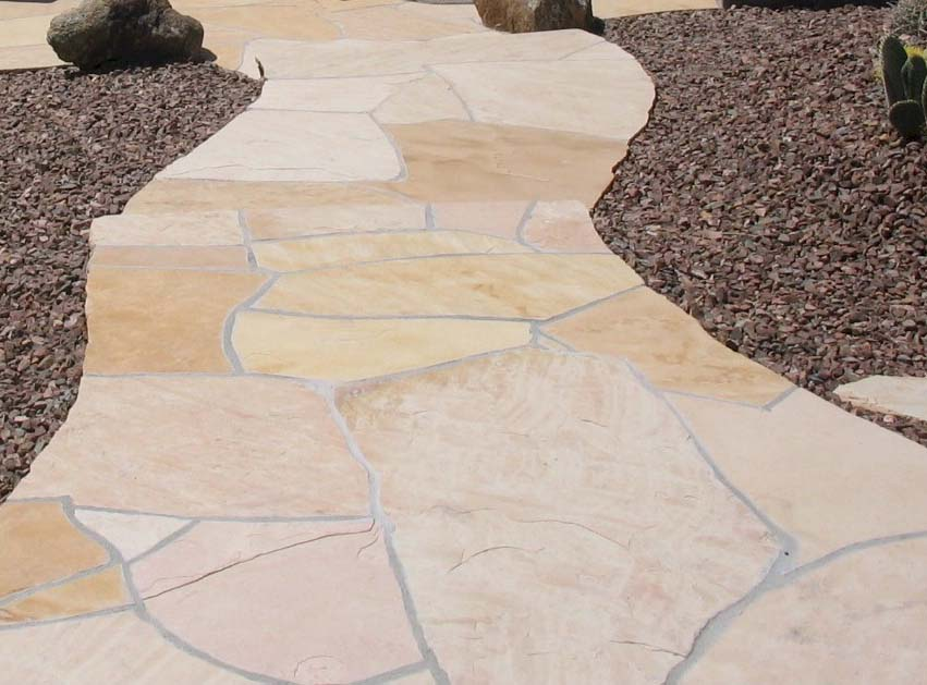 Flagstone SidewalkAZ landscape concrete  flagstone  block wall. Flagstone Sidewalk Pictures. Home Design Ideas