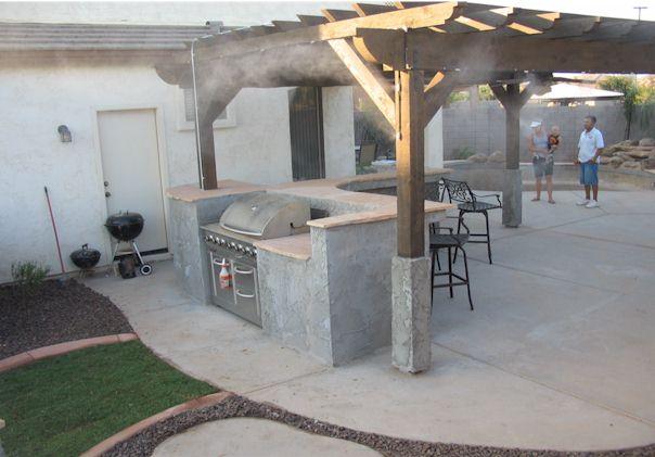 Arizona patio misting system arizona living landscape design it solutioingenieria Images