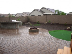 Attractive Backyard Landscape Design Arizona