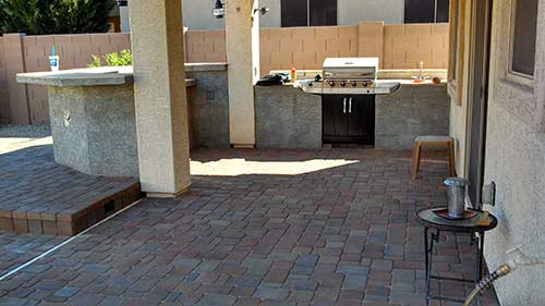 Paver Patio over existing patio