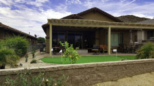 backyard-after landscape arizona