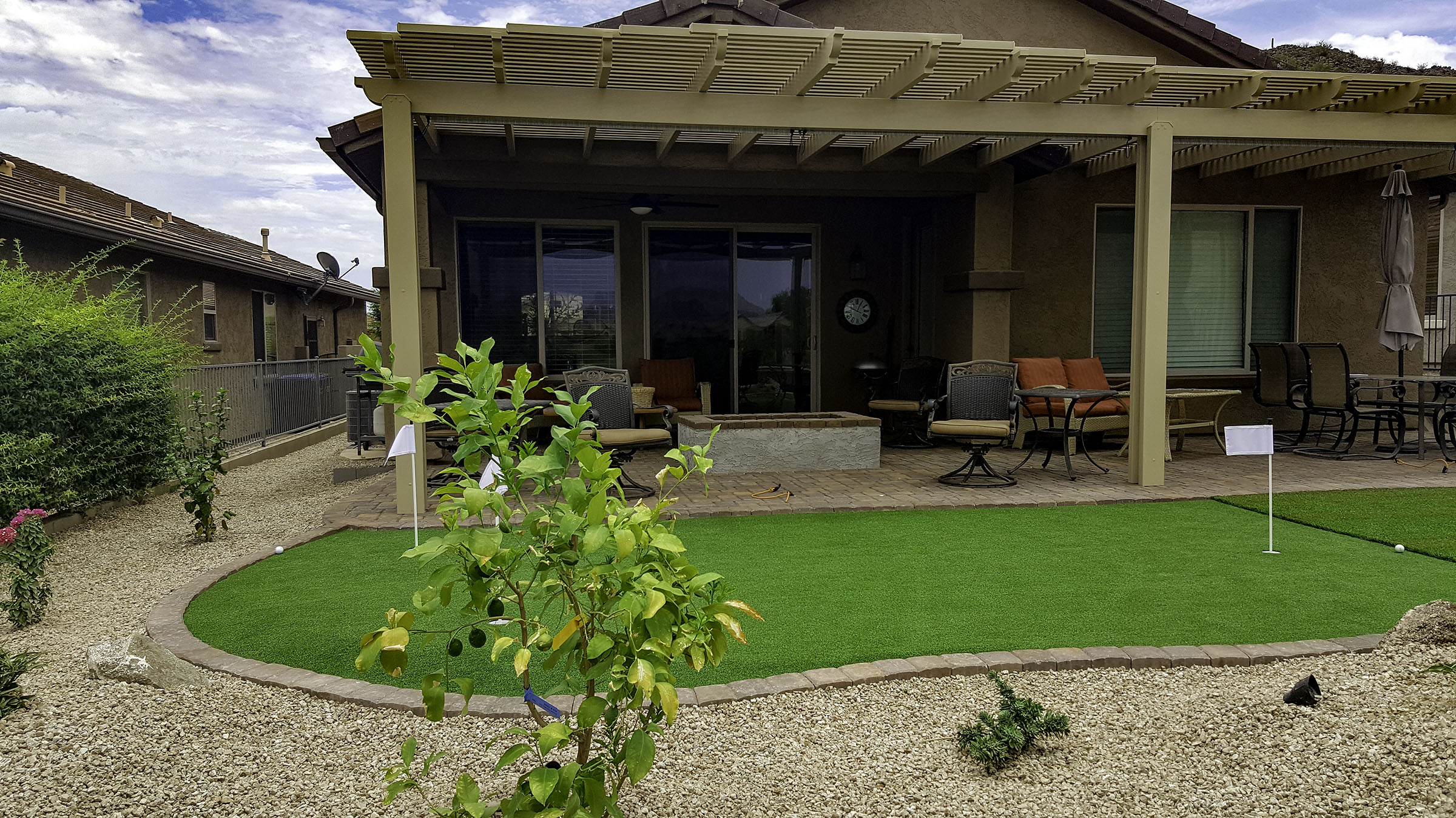 backyard landscape design remodel before and after pictures backyard after2 - Backyard Garden Ideas Before And After