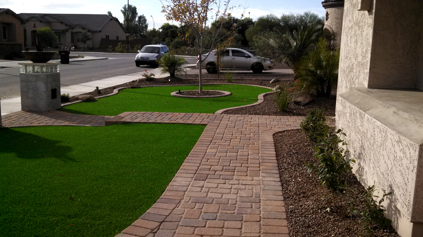 Landscaping Ideas For Front Yard In Arizona : Paver patio stones design ideas and installation az living