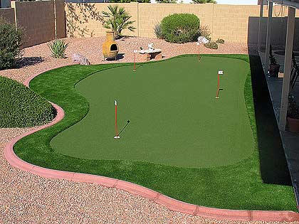 work synthetic grass or artificial turf may be the answer for you