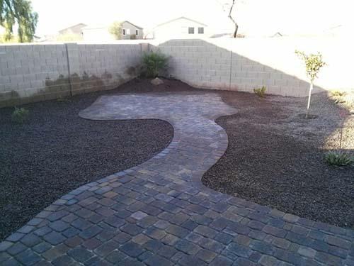 Arizona Paver patio design