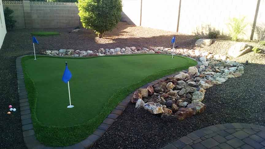 How Much Does A Backyard Putting Green Cost How Much Does A Backyard Putting Green Cost Synthetic