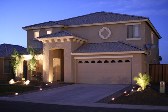 driveway pavers with lights