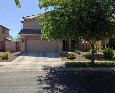 Desert Landscape Design AZ Front Yard