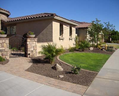 How much does a backyard landscape cost in Arizona?