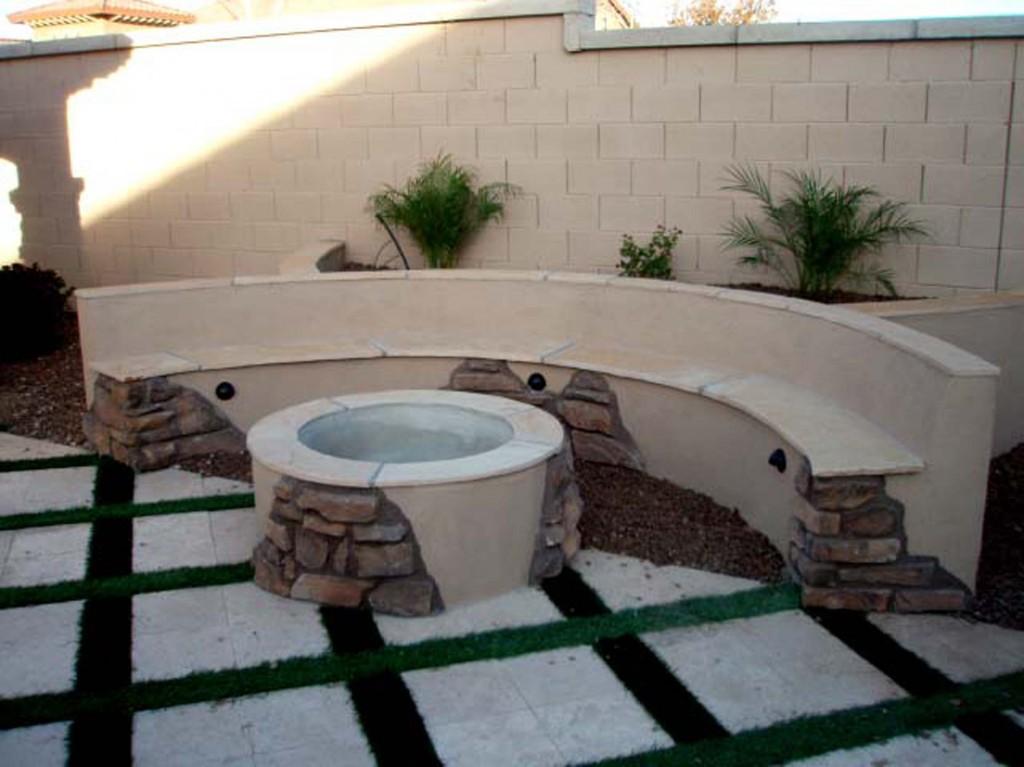 Fire Pits Designed By Az Living Landscape Call 480 390 4477
