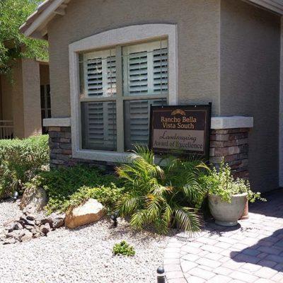 Landscape Award Rancho Bella Vista
