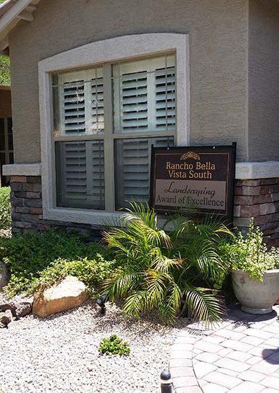 Rancho Bella Vista Landscape Award