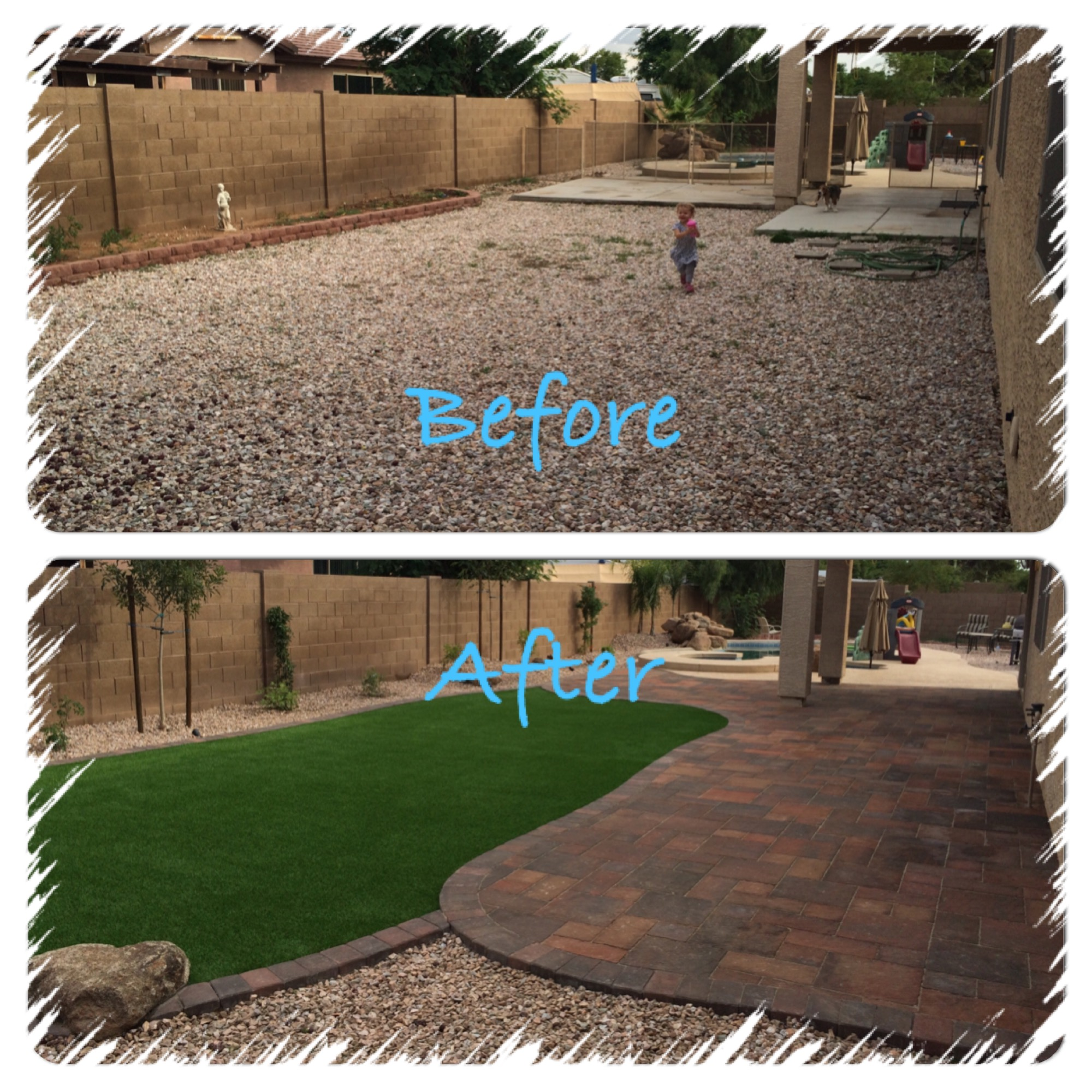 Yard remodel archives arizona living landscape design for Backyard design ideas arizona