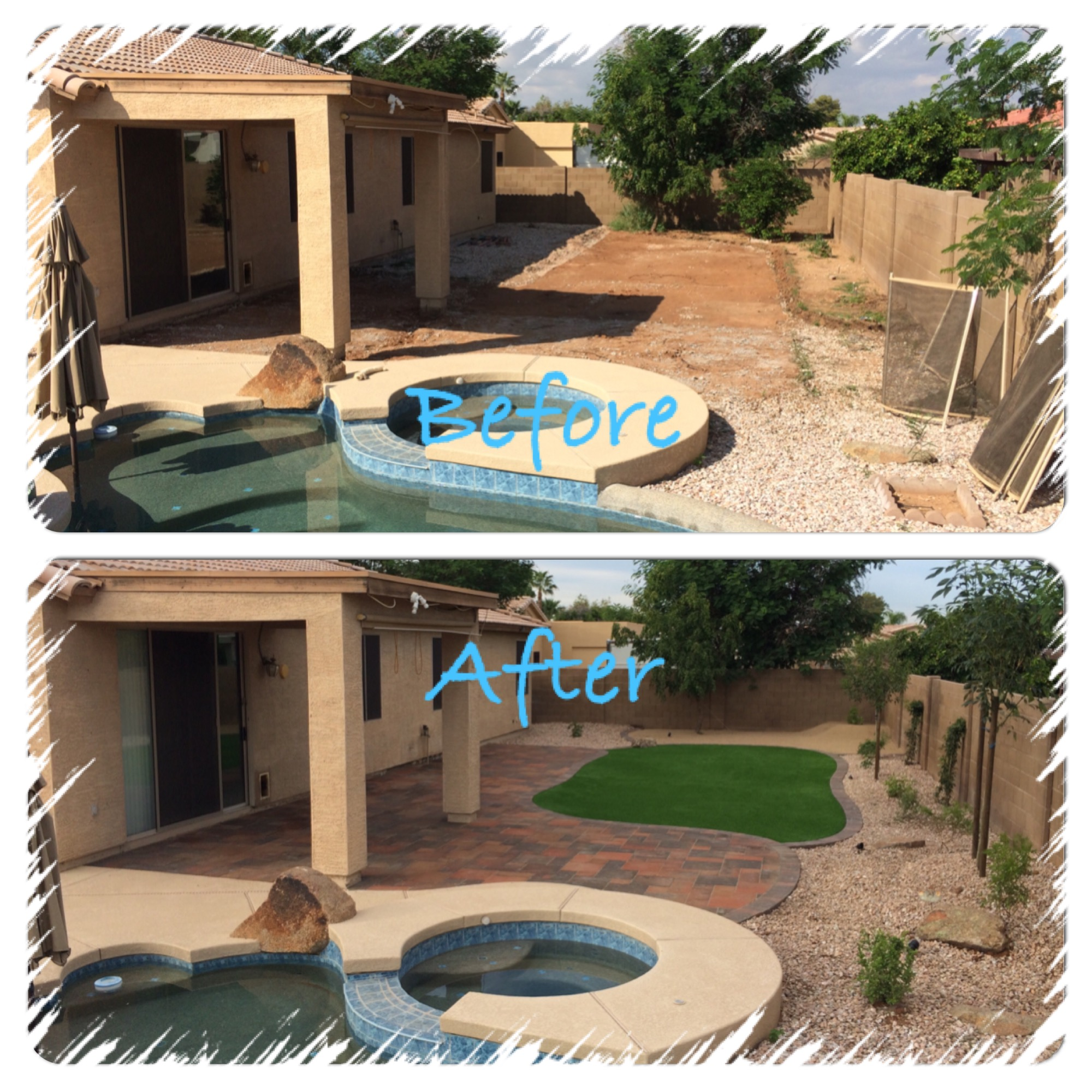 Landscape design archives arizona living landscape design for Patio landscape design