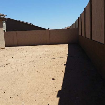Desert Yard Remodel