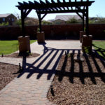 backyard landscaping paver patio