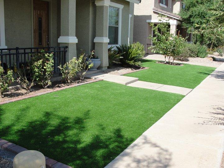 Front yard synthetic grass arizona