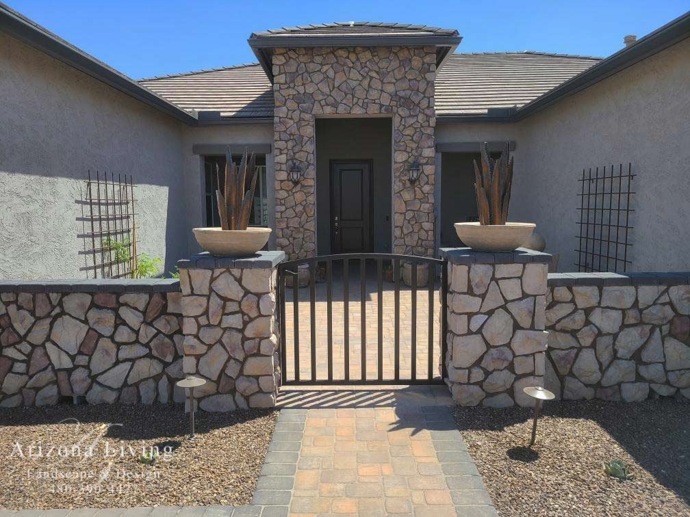 Paver Patio Design Ideas Installation Arizona Living Landscape Design